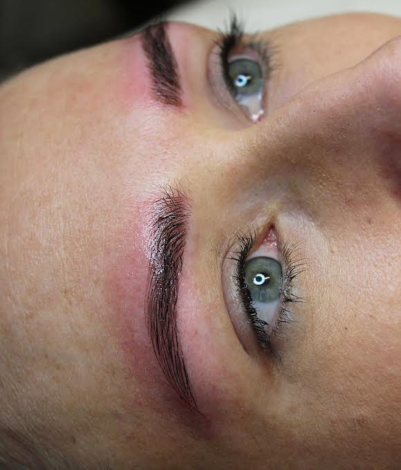 Before After Eyebrow Feathering Melbourne Micro Blading